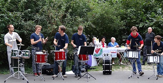 Percussion-Gruppe der Musikschule Fanny Hensel