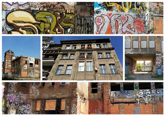 Collage Eisfabrik